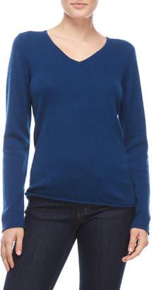 Ply Cashmere V-Neck Cashmere Sweater