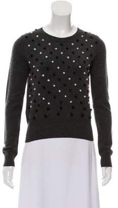 Diane von Furstenberg Wool Textured Sweater