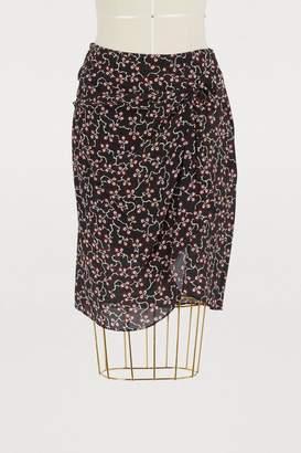 Isabel Marant Silk Livia skirt
