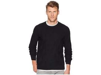 Perry Ellis Texture Pattern Crew Sweater