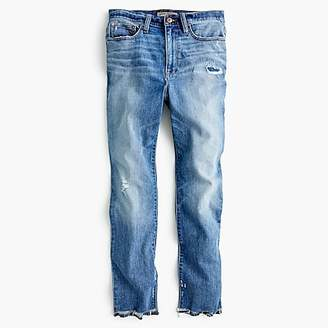 J.Crew Tall Point Sur high-rise boyfriend jean with uneven hems