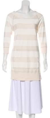 Rag & Bone Long Sleeve Striped Sweatshirt