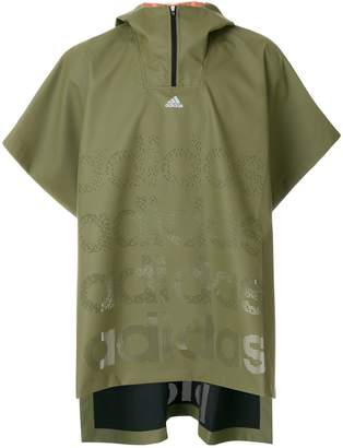 adidas oversized rain jacket