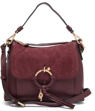 See By Chloé - Joan Medium Leather Shoulder Bag - Womens - Purple