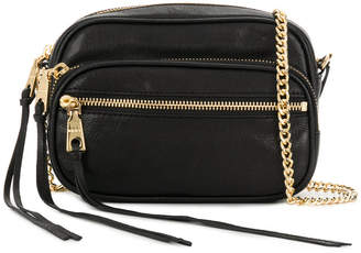 DKNY double zip crossbody bag