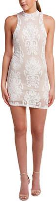 DAY Birger et Mikkelsen On Twelfth Embroidered Lace Sheath Dress