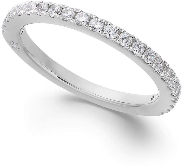 Marchesa Diamond Wedding Band by in 18k White Gold (3/8 ct. t.w.), Created for Macy's