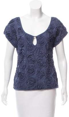 Marc by Marc Jacobs Rosette-Trim Sleeveless Top