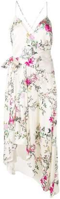 Equipment Estille floral print dress