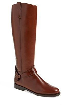 Women's Tory Burch 'Derby' Leather Riding Boot $550 thestylecure.com