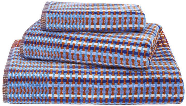 Olivier Desforges - Moka Towel - Azur - Hand Towel
