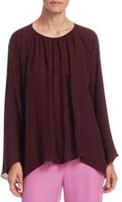 The Row Lancy Silk Top