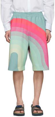 Dries Van Noten Multicolor Verner Panton Edition Wave Hostala Shorts