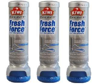 Kiwi Fresh Force Shoe Freshener Aerosol (3-Pack)