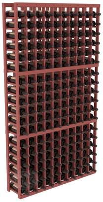 Wine Racks America Ponderosa Pine 10 Column Wine Cellar Kit. 13 Stains to Choose From!