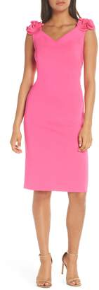 Eliza J Rosette Sheath Dress