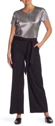 Kensie Pinstripe Wide Leg Pants