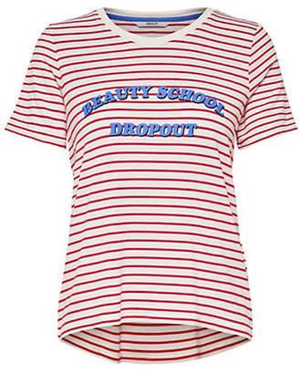 "Only Drake ""Beauty School Dropout"" Striped T-Shirt"