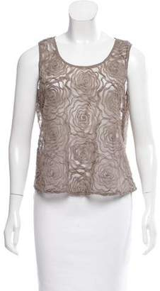 Opening Ceremony Sleeveless Floral Pattern Top