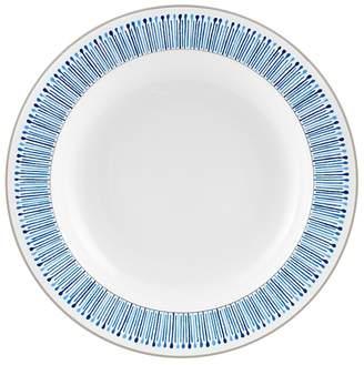 Monique Lhuillier Waterford Malibu Azure Rim Soup Bowl