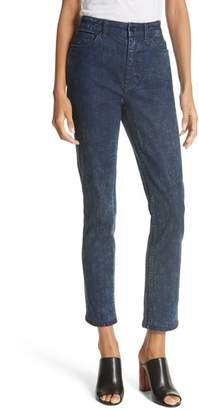 Rebecca Taylor Ines Acid Ink Wash Jeans