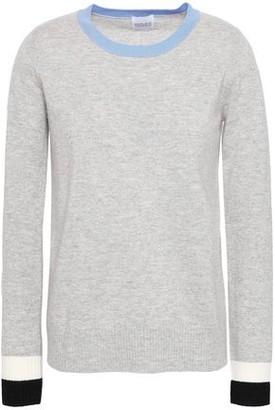 Madeleine Thompson Melange Wool And Cashmere-blend Sweater