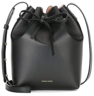 Mansur Gavriel Mini Bucket leather crossbody bag