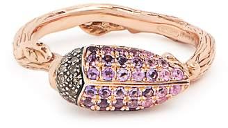Rosegold BIBI VAN DER VELDEN Scarab rose-gold ring