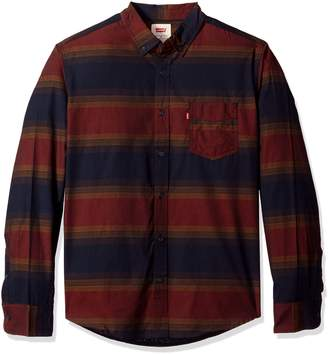 Levi's Men's Vashon Long Sleeve Cotton/poly Shirt