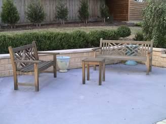 Chippendale Bench Teak