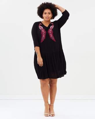 Junarose Woven Dress