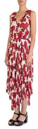 The Kooples Sleeveless Hortensia-Print Dress
