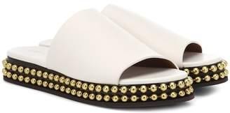 Chloé Embellished leather slides