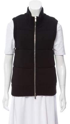 Michael Kors Cashmere Zip--Up Vest