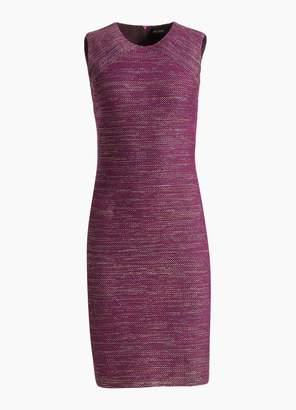 St. John Ombre Ribbon Tweed Dress