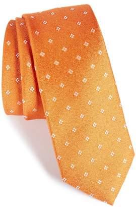 CALIBRATE Moten Neat Silk Skinny Tie