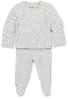 Saks Fifth Avenue Layette Baby's Star Kimono Top& Pants Set