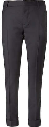 Valentino Wool And Mohair-Blend Trousers
