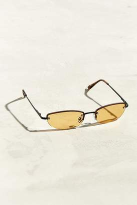 Urban Outfitters Rimless Rounded Rectangle Sunglasses