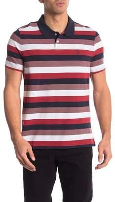 Original Penguin Pique Stripe Short Sleeve Polo