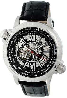 Reign Unisex Black Strap Watch-Reirn2101