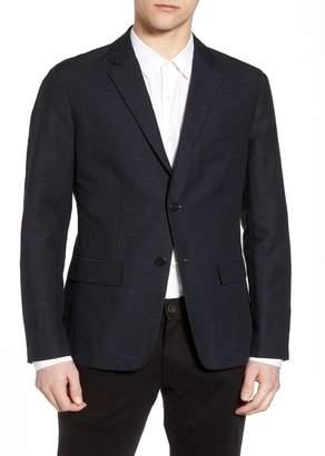 Theory Clinton Trim Fit Jacquard Suit Separate Blazer
