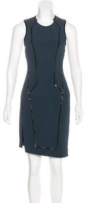 Helmut Lang Angora-Blend Mini Dress
