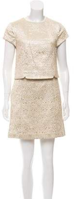 Tory Burch Brocade Brielle Dress w/ Tags