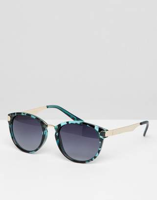 7X 7x Angled Sunglasses With Faded Lens