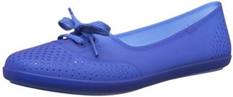 Keds Women's Teacup Waterproof Jelly Ballet Flat $35 thestylecure.com