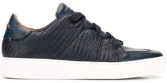 Ermenegildo Zegna XXX woven mid-top sneakers