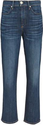 Rag & Bone High-Rise Ankle Cigarette Jeans