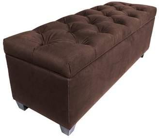Alcott Hill Heaney Sole Secret Upholstered Shoe Storage Bench Upholstery