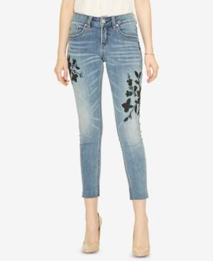 Silver Jeans Co. Embroidered Girlfriend Jeans